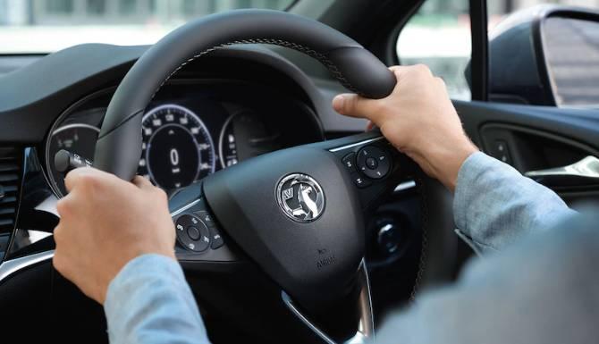 Astra steering wheel