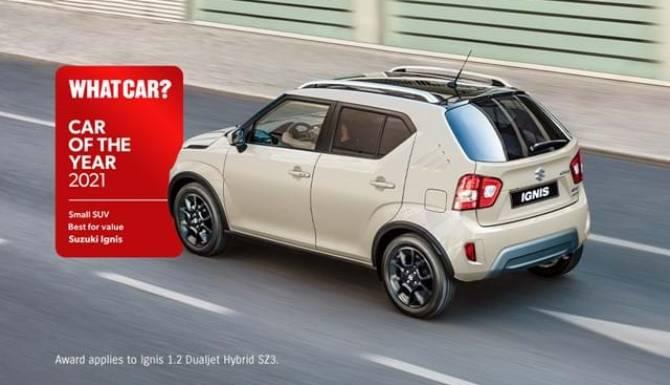 Suzuki Ignis What Car Award