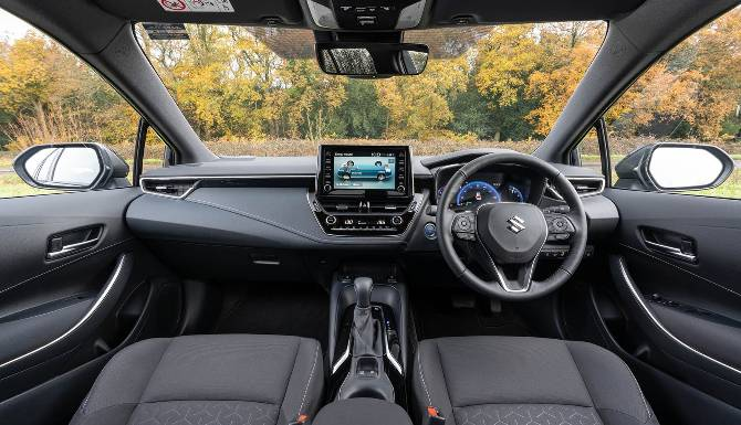 Suzuki Swace Interior