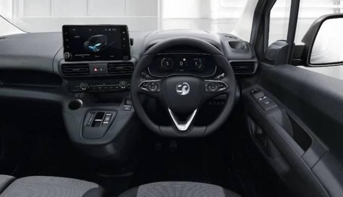 Vauxhall Van interior